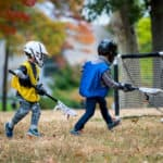 kids playing lacrosse - Buckeye Pediatric Dentistry in Reynoldsburg